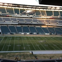 Photo taken at Lincoln Financial Field by Tanisha G. on 12/23/2012