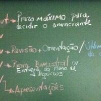 Photo taken at Sala 003 - Bloco Azul - Curso PP by Sérgio C. on 10/21/2013