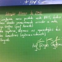 Photo taken at Sala 003 - Bloco Azul - Curso PP by Sérgio C. on 4/14/2014