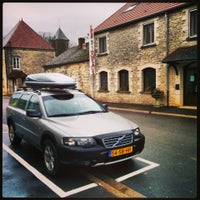 Photo taken at Auberge des 3 Jumeaux by Niek S. on 2/15/2014