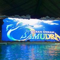 Photo taken at Ocean Dream Samudra (Gelanggang Samudera Ancol) by Dina S. on 8/3/2013