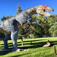 Photo taken at Eccles Dinosaur Park by Aubrey S. on 10/6/2013