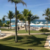 Photo taken at Plaza Resort & Spa Itapema by Cláudio T. on 4/28/2013