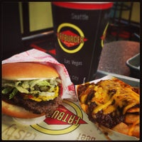 Photo taken at Fatburger by ひでじい on 3/3/2013