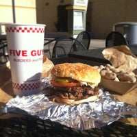 Photo taken at Five Guys by Hide T. on 1/20/2013