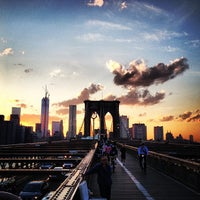 Photo taken at Brooklyn Bridge by Brian B. on 5/17/2013