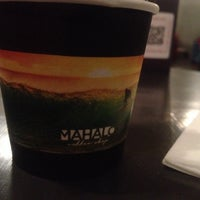 Photo taken at Mahalo Coffee Shop by Gurkan O. on 1/3/2015