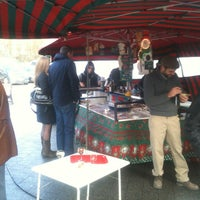 Photo taken at Marché de Boitsfort / Markt van Bosvoorde by Maxime D. on 12/30/2012