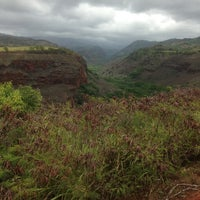 Photo taken at Hanapepe Canyon Lookout by Joseph O. on 8/1/2013
