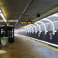 Photo taken at MBTA Roxbury Crossing Station by Joe F. on 2/9/2016