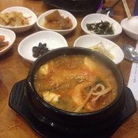 Photo taken at Sura Korean Restaurant by Thomas F. on 7/2/2015