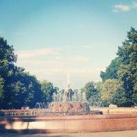 Photo taken at Bolotnaya Square by vixi v. on 6/23/2013