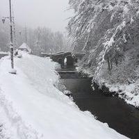 Photo taken at Міст чотирьох Євангелістів / Bridge of four Evangelists by Закарпатський T. on 12/4/2017