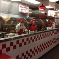Photo taken at Five Guys by maurice b. on 12/29/2012