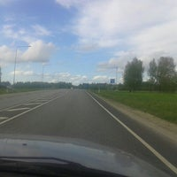 Photo taken at Pärnu - Tallinn maantee by Jaan S. on 5/23/2015