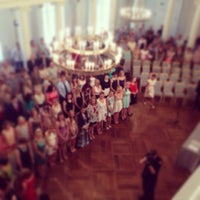 Photo taken at University of Tartu main building by Rando P. on 6/28/2013