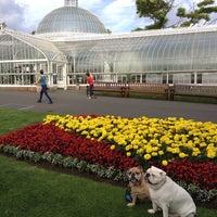 Photo taken at Glasgow Botanic Gardens by Buzz C. on 8/31/2013