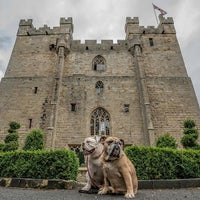 Photo taken at Langley Castle Hotel by Buzz C. on 8/31/2013