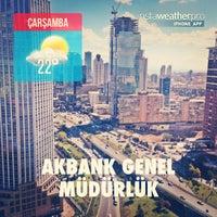 Photo taken at Akbank Genel Müdürlük by Mert B. on 9/4/2013