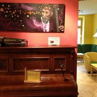 Photo taken at Vienna Hostel Ruthensteiner by Lauren K. on 3/19/2013