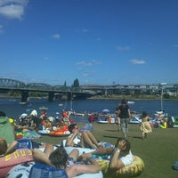 Photo taken at The Big Float by Alicia on 7/28/2013