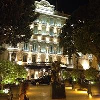 Photo taken at Hôtel Hermitage Monte-Carlo by Gulen M. on 6/28/2013