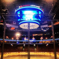 Photo taken at Rogers Arena by Ryan B. on 1/24/2013