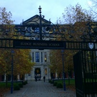 Photo taken at Cambridge Judge Business School by Nail V. on 11/9/2012