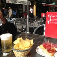 Photo taken at Meson Oro Y Plata by The Cheap in Madrid B. on 5/31/2013