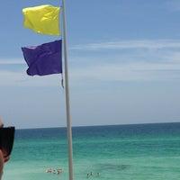 Photo taken at Blue Mountain Beach by Amelia K. on 6/11/2013