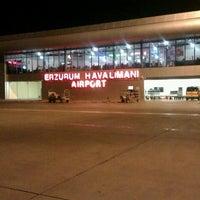 Photo taken at Erzurum Airport (ERZ) by Murat Tarık I. on 10/18/2012