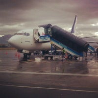 Photo taken at Erzurum Airport (ERZ) by Murat Tarık I. on 10/24/2012
