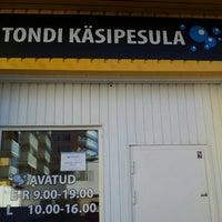 Photo taken at Tondi käsipesula by Kertu K. on 7/16/2013