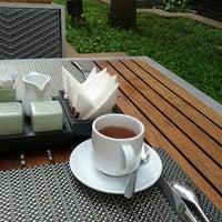 Photo taken at Tara Angkor Hotel Breakfast Lounge by Balazs K. on 3/9/2013