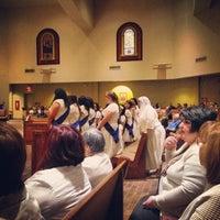 Photo taken at Holy Spirit Catholic Parish of McAllen by Monica G. on 2/16/2014