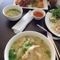 Photo taken at Pho Ga Dakao by Alice S. on 4/23/2014