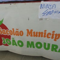 Photo taken at Sacolão João Moura by Andrey K. on 3/28/2013