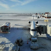 Photo taken at Ottawa Macdonald-Cartier International Airport (YOW) by Jeffy B. on 12/28/2012