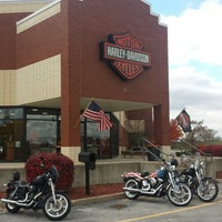 Photo taken at Lucky Harley-Davidson by Joshua G. on 11/3/2013