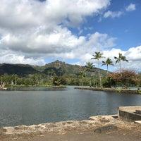 Photo taken at Wailua Marina by Paula L. on 1/31/2018