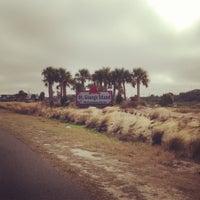 Photo taken at Saint George Island, FL by Michele H. on 12/15/2012