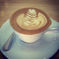 Photo taken at Verve Coffee Roasters by Ashley E. on 10/18/2012