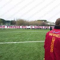 Photo taken at A.S. Roma - Centro Sportivo Fulvio Bernardini by As Roma on 3/28/2013