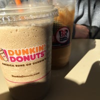 Photo taken at Dunkin Donuts by Andrea A. on 2/28/2016