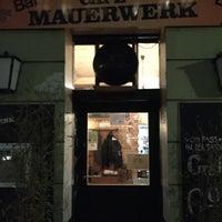 Photo taken at Mauerwerk by Dirk T. on 2/1/2016
