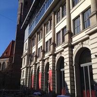 Photo taken at Literaturhaus by Dirk T. on 3/27/2014