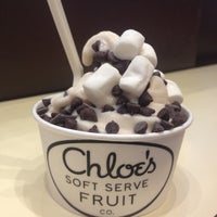 Photo taken at Chloe's Soft Serve Fruit Co. by Annie V. on 11/12/2012