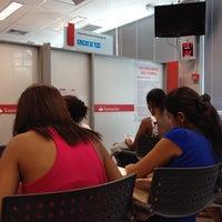Photo taken at Banco Santander by Geonildo M. on 12/4/2013