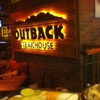 Photo taken at Outback Steakhouse by Rodrigo S. on 3/3/2013