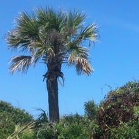 Photo taken at Atlantic ocean Tybee Island by Steve V. on 5/10/2013